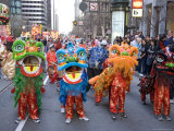 Performers, Chinese New Year Parade Photographic Print by Roberto Gerometta