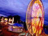 Rose Festival Waterfront Village Carnival, Tom Mccall Waterfront Park Photographic Print by Anthony Pidgeon