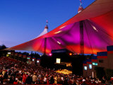 Sf Symphony Performing at Shoreline Amphitheater, Mountain View Photographic Print by Anthony Pidgeon