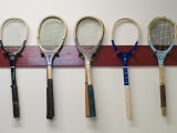Racquets at Royal Tennis Court Photographic Print by Grant Dixon