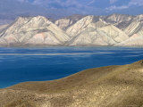Reservoir on Naryn River Photographic Print by Christopher Herwig