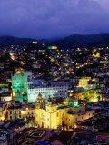 Overhead of City from Monument to El Pipila Photographic Print by Ryan Fox