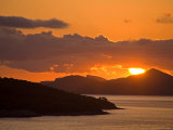 Sunset on the Dalmatian Coast Photographic Print by Richard Cummins