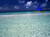 Paraw, White Beach Photographic Print by Dallas Stribley
