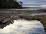 Reflections in Rock Pools Photographie par Simon Foale