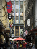 View of Majorca Building and Degraves Street Photographic Print by Glenn Beanland