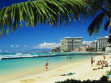 Kuhio Beach Photographic Print by Ann Cecil