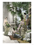Home and Servants of Scipio the Younger, Ancient Rome Giclee Print