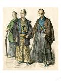 Japanese Swordsmen Giclee Print