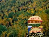 Cafe Sign Near Anchorage Photographic Print by Rob Blakers