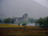 Ruins of Kilchurn Castle, Built in 1440 at the Northern End of Loch Awe Photographic Print by Kristin Piljay