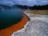 Champagne Pool at Wai-O-Tapu Thermal Wonderland Photographic Print by Richard I'Anson