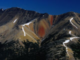 Rainbow Mountain or Tsitsutl in Tweedsmuir Provincial Park, the Largest in BC Photographic Print by Mary Peachin