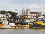Amazon River Waterfront Photographic Print by Holger Leue