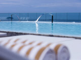 Rooftop Swimming Pool, Hotel Fasano Ay Ipanema Beach Photographic Print by Holger Leue