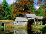 Mabry Mill Near Meadows of Dan Photographic Print by Dennis Johnson