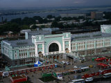 Grand Novosibirsk Station, Half-Way Stop for Passengers on the Trans-Siberian Railway Route Photographic Print by Simon Richmond