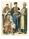 Russian Tartars from the Crimea in their Native Clothing Giclee Print