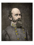 Confederate General Richard Ewell Giclee Print