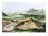 Incan Temple of the Sun in Cuzco, Peru, 1500s Giclee Print