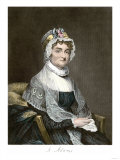 Abigail Adams, with Her Autograph Giclee Print
