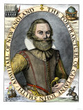 Captain John Smith, Colonizer of Jamestown Giclee Print