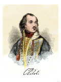 Polish Nobleman Casimir Pulaski, with His Signature Giclee Print
