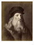 Leonardo Da Vinci Giclee Print