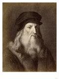 Leonardo Da Vinci Giclee Print