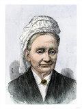 Eliza Ballou Garfield, Mother of US President James A. Garfield Giclee Print