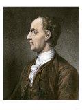Leonhard Euler, Swiss Mathematician Giclee Print
