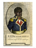 Jean-Jacques Dessalines, Emperor Jacques I of Haiti Giclee Print
