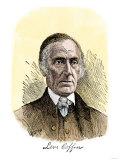 Quaker Abolitionist Levi Coffin, with His Signature Print