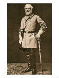 Confederate General Robert E. Lee in 1862 or 1863 Giclee Print