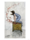 Pandora Atop the Opened Box of Evils Giclee Print