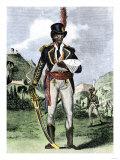Toussaint Louverture, Liberator of Haiti Giclee Print