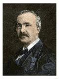 Archaeologist Henry Schliemann Giclee Print