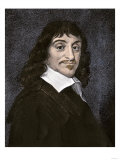 Rene Descartes Giclee Print