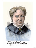 Elizabeth Blackwell, First Women Physician in Modern Times, with Her Autograph Giclee Print