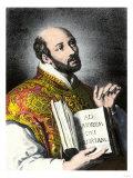 Saint Ignatius of Loyola Giclee Print