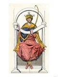 Anglo-Saxon King Edgar, the Aetheling Giclee Print