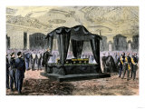 Henry Ward Beecher Delivering the Lincoln Funeral Oration in the White House, 1865, Giclee Print