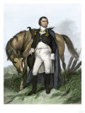 American General Nathanael Greene Beside His Horse Giclee Print