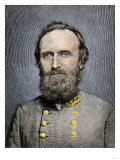 Confederate General Thomas Jackson Giclee Print