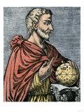 Pythagoras Greek Philosopher and Mathmatician, Giclee Print