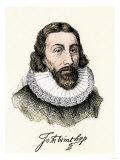 John Winthrop, with His Signature Giclee Print