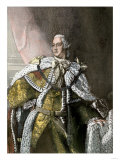 George Iii, King of England, in Gold Brocade Trimmed with Ermine, 1767 Giclee Print