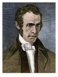 John Greenleaf Whittier in 1838, Giclee Print
