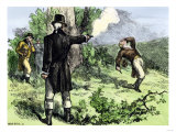 Alexander Hamilton Killed in a Duel with Aaron Burr, 1804 Giclee Print