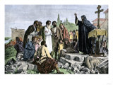 Apostle Andrew Spreading Christianity into the Russia Giclee Print